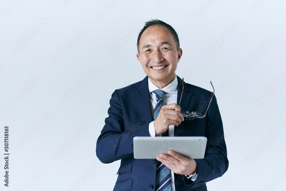 Fototapeta シニアのビジネスマン