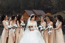 Photo Of The Bride And Bridesm...