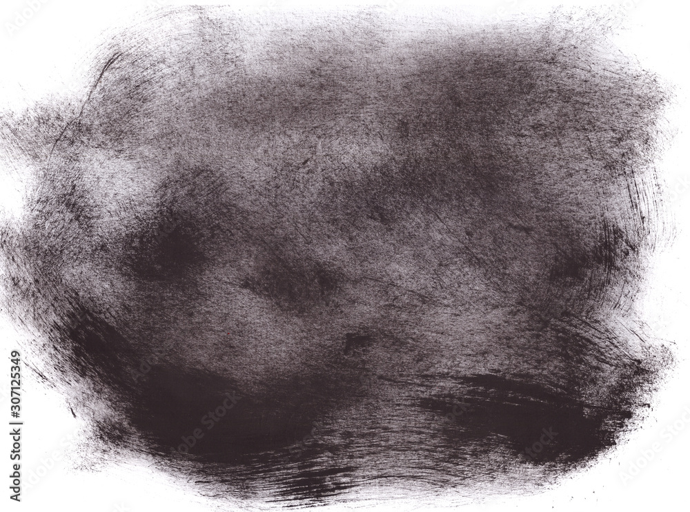 Fototapeta black and white creative watercolor background