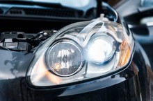 Car Headlights With Led Light ...