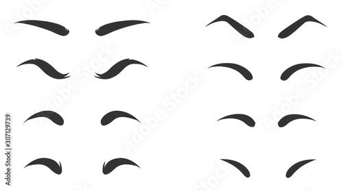 Fotomural  Eyebrow shapes