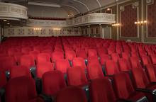Chairs At A Theatre. Schouwbur...