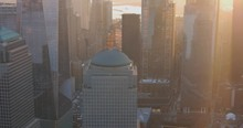 Aerial View Of Oculus Structure At World Trade Center