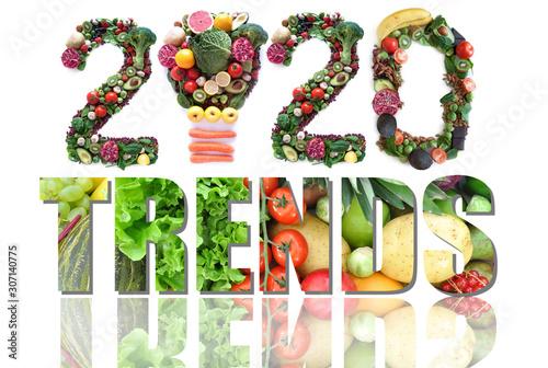 Cuadros en Lienzo 2020 food and health trends