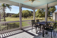 Three Season Screen Porch With...