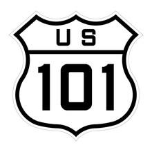 US Route 101 Sign