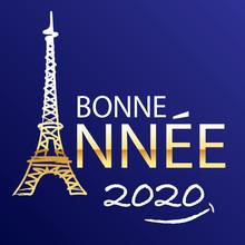 Carte De Vœux 2020 Pour Souha...