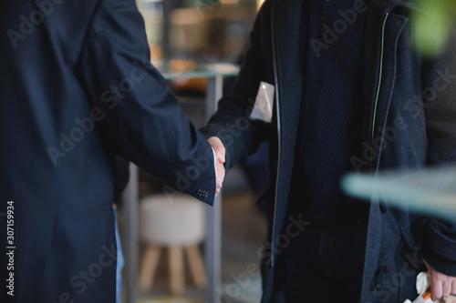 Poignée de mains Tapéta, Fotótapéta