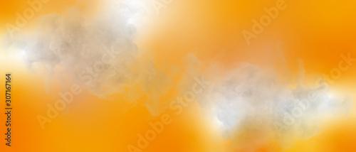 Fototapety, obrazy: Background 幻想的な背景 アブストラクト テクスチャ オレンジ