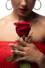 Cropped View Of Sensual Tango ...
