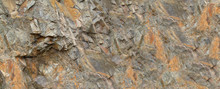 Mountain Close-up. White Rock Texture. Light Brown Stone Background. Rusty Grunge Background.