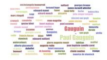 Paul Gauguin Word Cloud Animat...