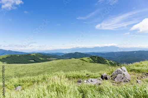 Obraz na plátně 高原の風景