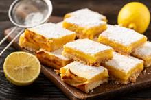 Homemade Lemon Bars With Short...