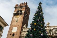 Christmas Tree In Verona
