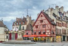 Francois Rude Square, Dijon, F...