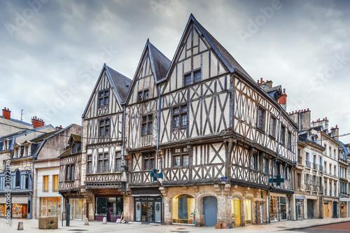Fototapeta Street in Dijon, France obraz