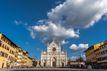Piazza Basilica Of Santa Croce...