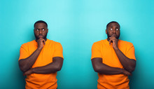 Black Man With Feelings Of Gui...