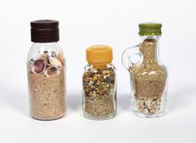 Sea Sand Shells In A Bottle