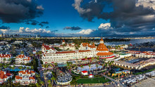 Luxury Resort Panorama On Coronado Island