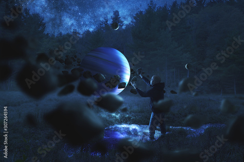 man-collecting-rocks-around-a-planet