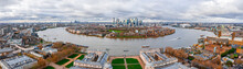 Aerial Panoramic View Of The N...