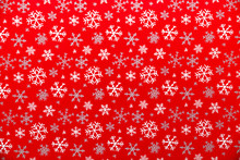 Red Snowflake Wrapping Paper