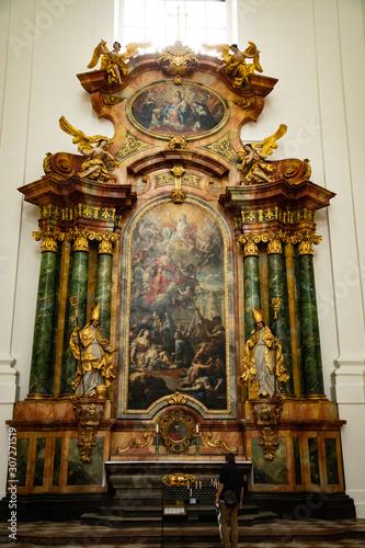 Church Altar - Salzburg Austria