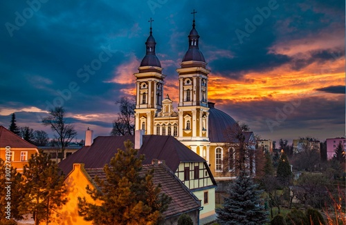 Krotoszyn - kościół św. Andrzeja Boboli
