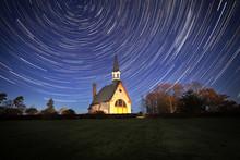 Grand Pre Church Under The Stars