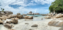 Boulders By The Seaside
