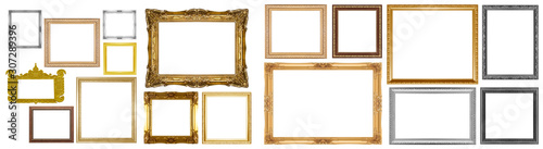 Obraz Old gold frame - fototapety do salonu