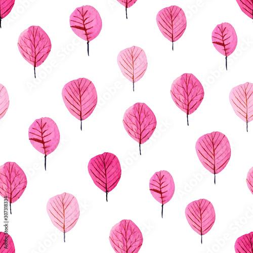 drzewo-akwarela-bezszwowe-tlo-wzor-ilustracji-wektorowych