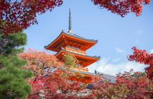 Three-story Pagoda In Kiyomizu...