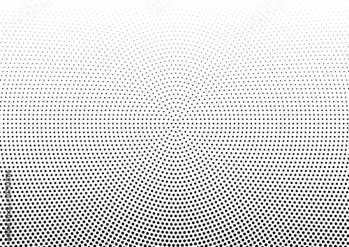 Abstract halftone dotted background Wallpaper Mural
