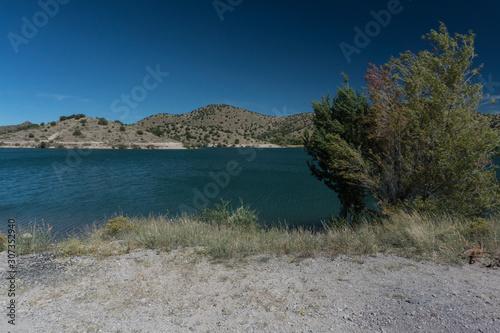 Bill Evans Lake near Silver City, New Mexico. Canvas Print