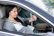 Husband drives Beautiful Pregnant Woman to the hospital