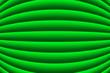 Leinwanddruck Bild - Fondo verde de pliegues curvados.