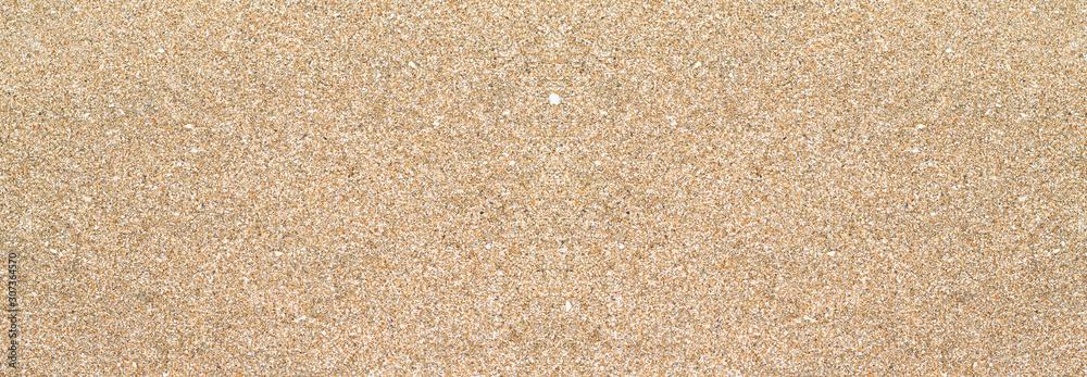 Fototapeta Arrière-plan large ou bannière texture sable