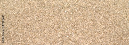Photo Arrière-plan large ou bannière texture sable