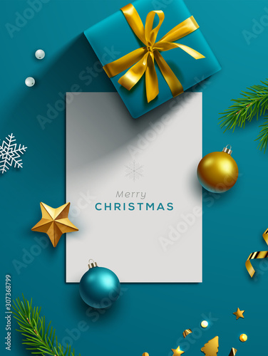 Holiday Banner. Vector Illustration.