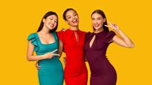 Three Diverse Girlfriends Gest...