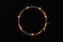 Golden Ring.Vector Luxury Spar...
