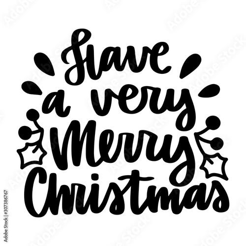 Obraz Vector christmas quote - fototapety do salonu