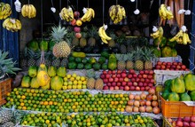 Colorful Stall With Carefully...