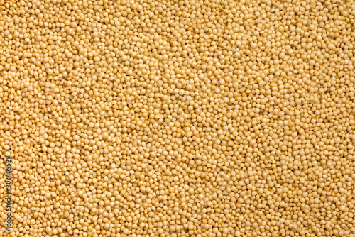 Close up shot of many amaranth grains in a pattern Wallpaper Mural