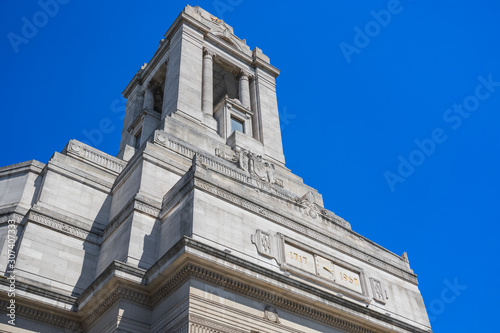 Front exterior of Freemasons Hall in London Tablou Canvas