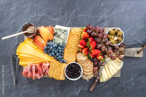 Cheese board Wallpaper Mural