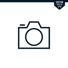 Camera Icon Collection In Outl...